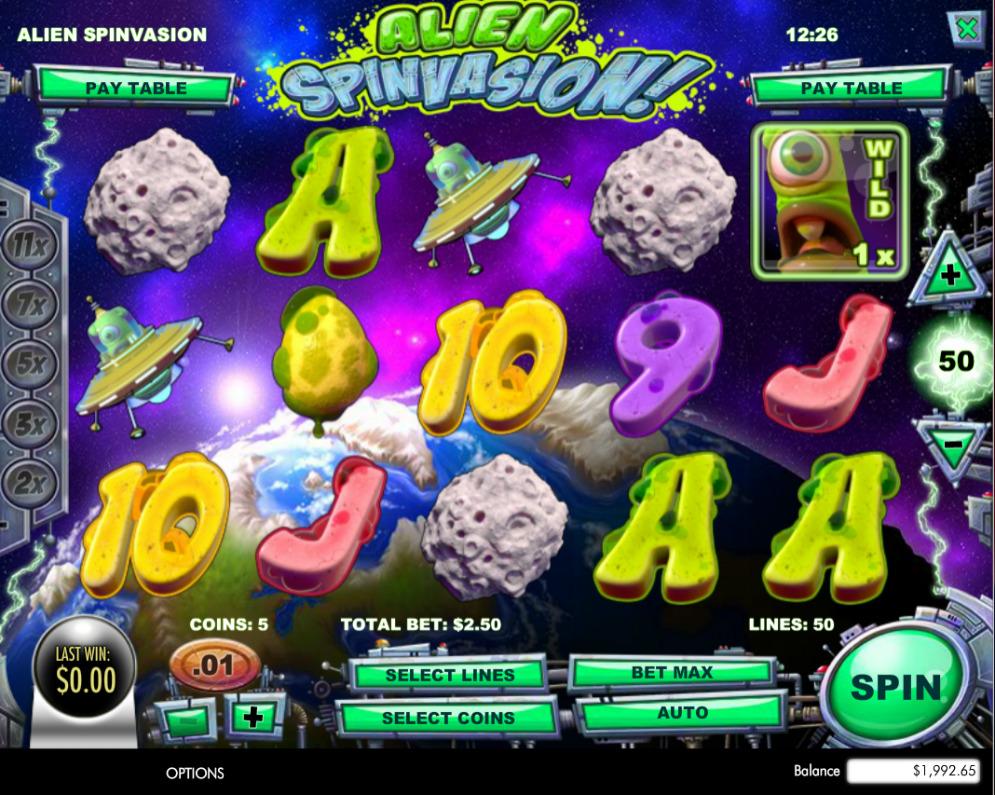 Spiele Alien Spinvasion - Video Slots Online