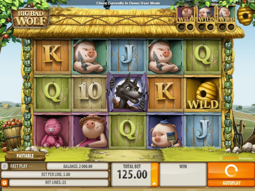 Big Bad Wolf Slot Machine