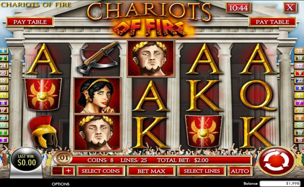 Spiele Chariots Of Fire - Video Slots Online