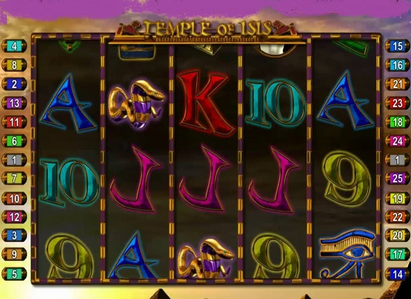 Temple Of Isis Slot Machine
