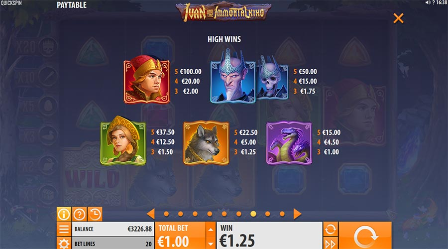Spiele Ivan And The Immortal King - Video Slots Online