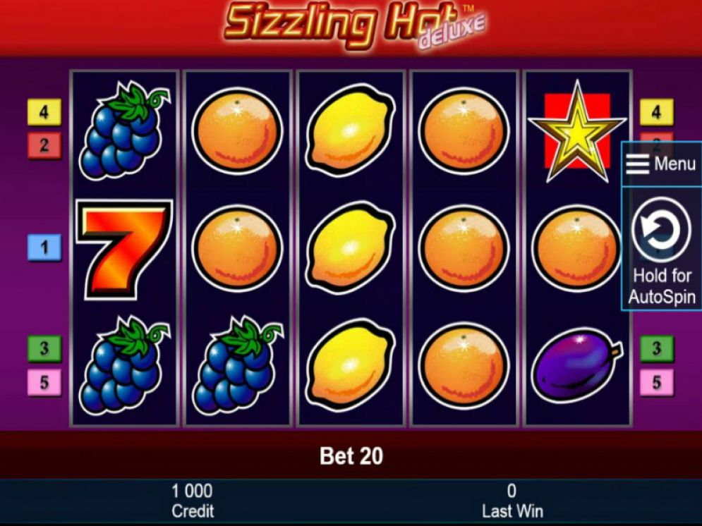 Sizzling Hot Deluxe Real Money