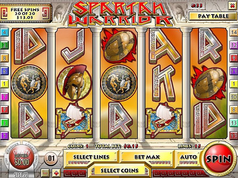 Spiele Spartan Warrior - Video Slots Online