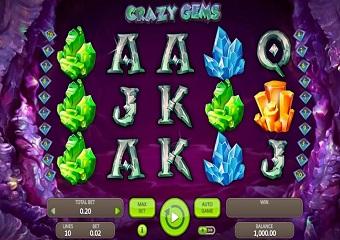 Crazy Gems Slot Machine