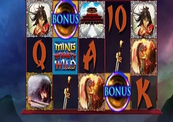 Claim your treasure playing the great ming empire slot Dilek