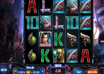 Zombie Outbreak Slot Machine Game