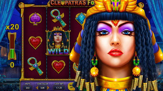 Cleopatra's Fortune by Dragon Gaming