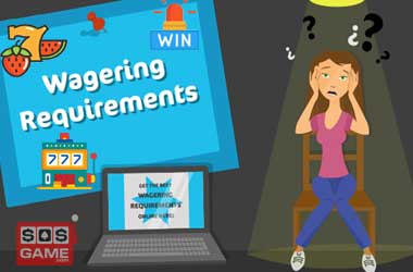 wagering requirements slots