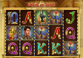 Book of Dead Slots RTP